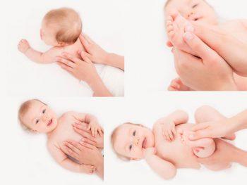 Những hiệu quả thần kỳ từ việc Massage cho trẻ
